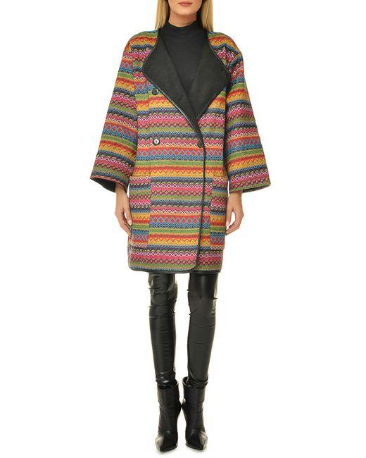 Selfie   Женское Многоцветное Пальто
