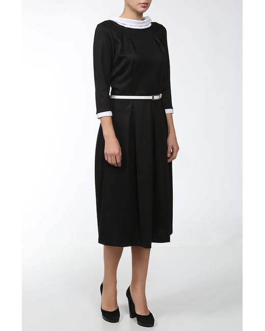 Мадам Т | Женское Чёрное Платье