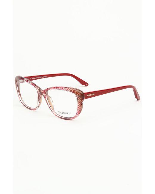 Valentino | Женская Розовая Медицинская Оправа