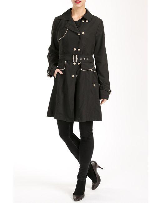 Salco | Женское Чёрное Пальто