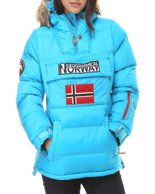 Geographical norway | Женская Голуба Куртка