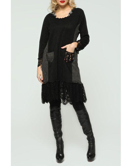 Kata Binska | Женское Чёрное Платье