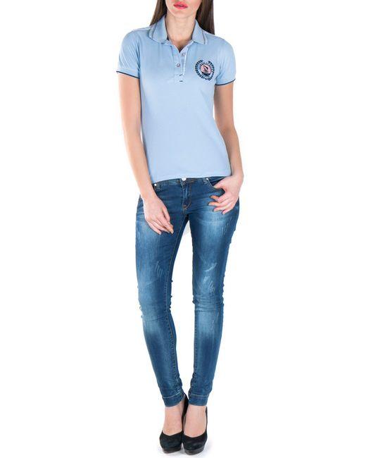 Giorgio Di Mare   Женская Синяя Рубашка-Поло