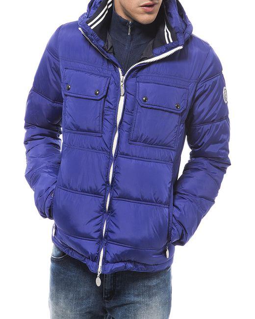 Trussardi | Мужская Синяя Куртка