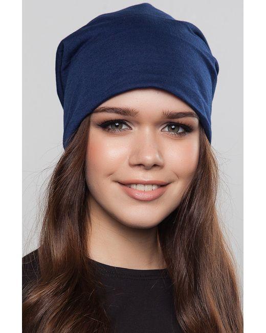 FREESPIRIT   Женская Синяя Шапка-Чулок Утепленная Classic