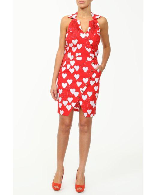 Cool Air | Женское Красное Платье