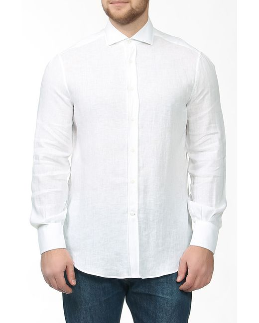 Brunello Cucinelli | Мужская Белая Рубашка