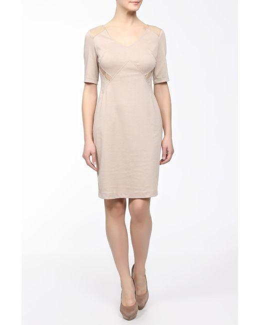 M&L Collection   Женское Бежевое Платье