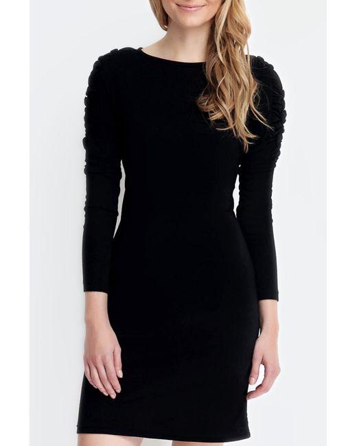 Troll | Женское Чёрное Платье