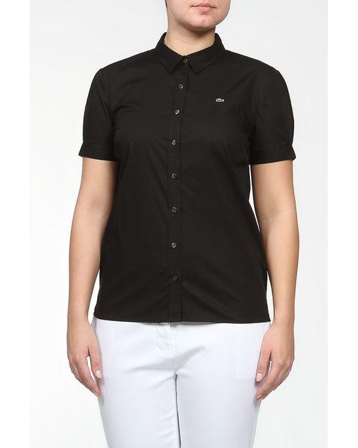Lacoste | Женская Чёрная Рубашка