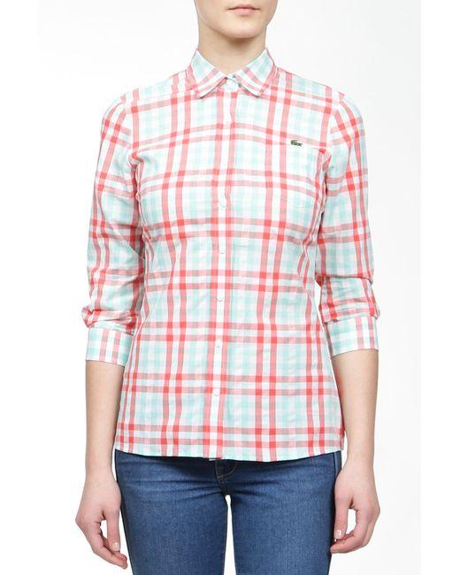 Lacoste   Женская Многоцветная Рубашка