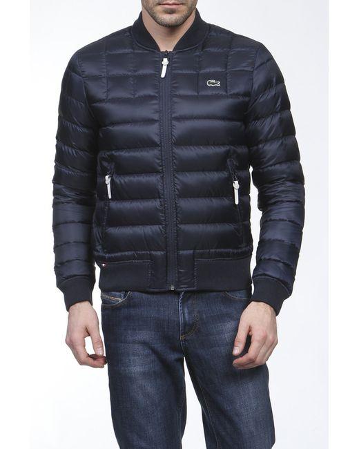Lacoste | Мужская Синяя Куртка