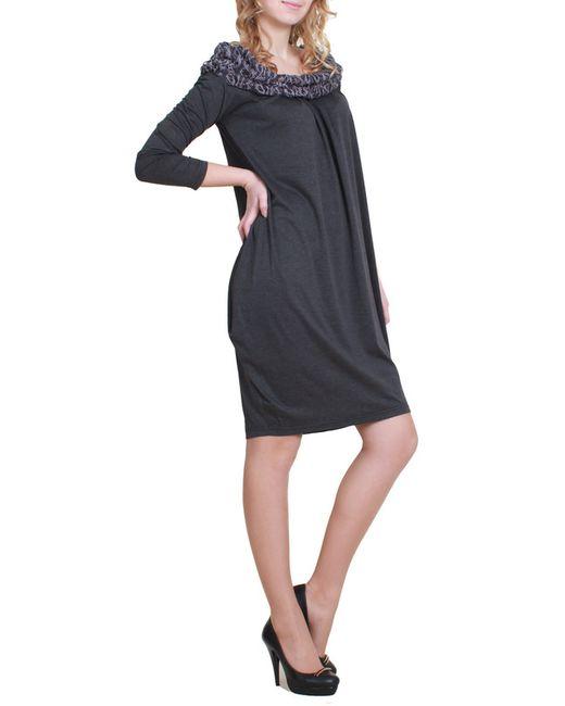 Mankato | Женское Коричневое Платье