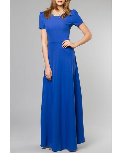 Vittoria Vicci | Женское Синее Платье