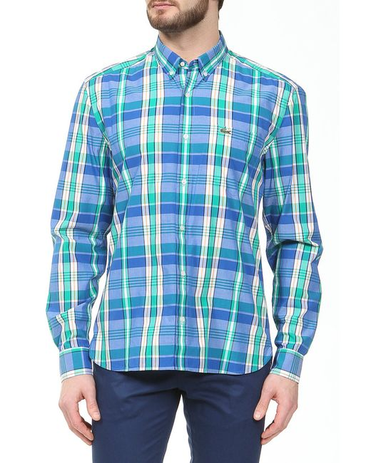 Lacoste   Мужская Зелёная Рубашка