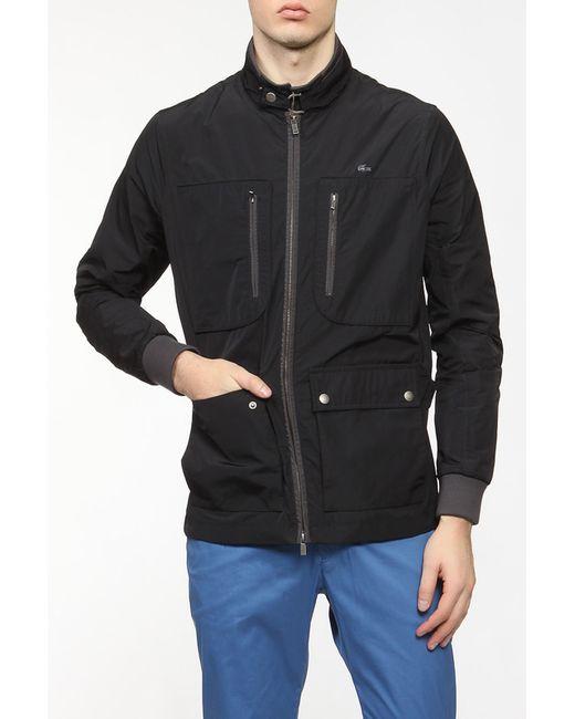 Lacoste | Мужская Чёрная Куртка