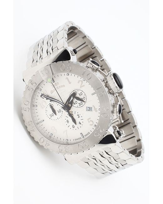 John Galliano | Мужские Белые Часы Наручные