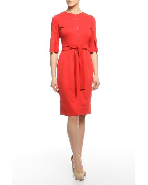 Alina Assi   Женское Красное Платье Модерн