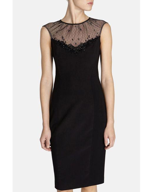 Karen Millen | Женское Чёрное Платье