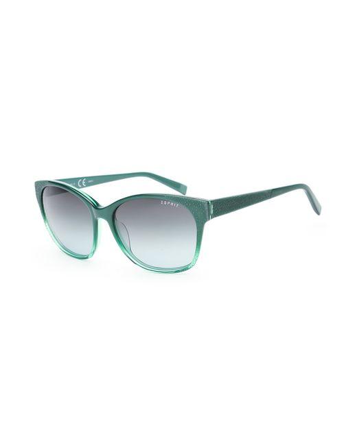 Esprit | Женские Зелёные Очки Солнцезащитные