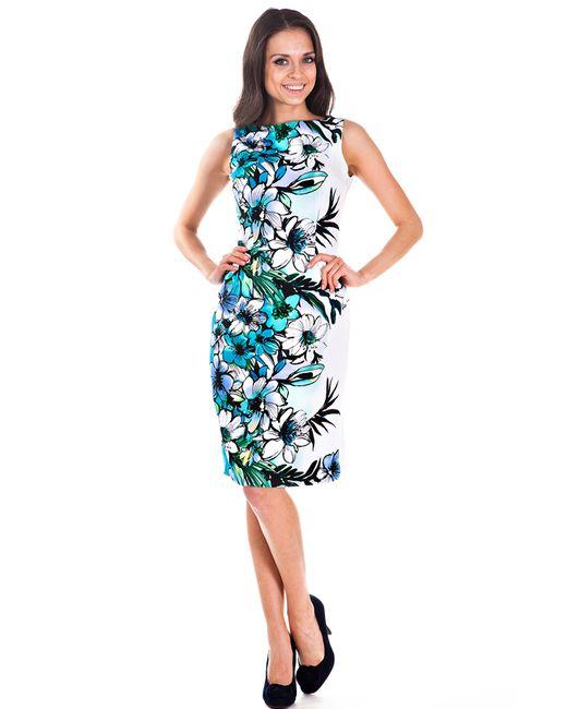Olivegrey | Женское Голубое Платье