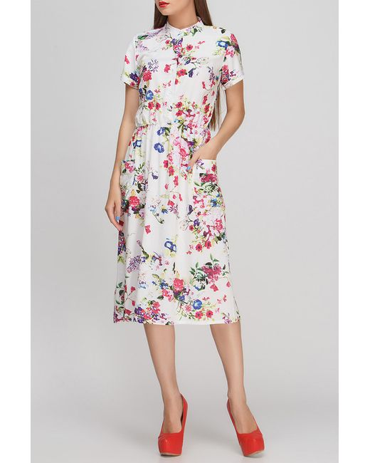 FIFI LAKRES | Женское Многоцветное Платье