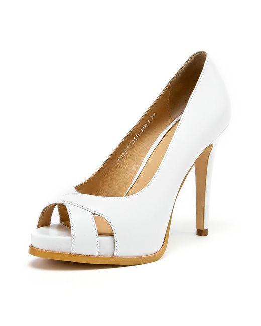 Alba | Женские Белые Туфли