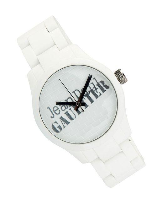 Jean Paul Gaultier   Женские Белые Часы