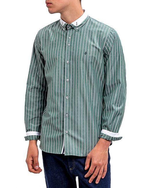 DIBYE | Мужская Зелёная Рубашка