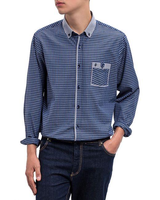DIBYE | Мужская Синяя Рубашка