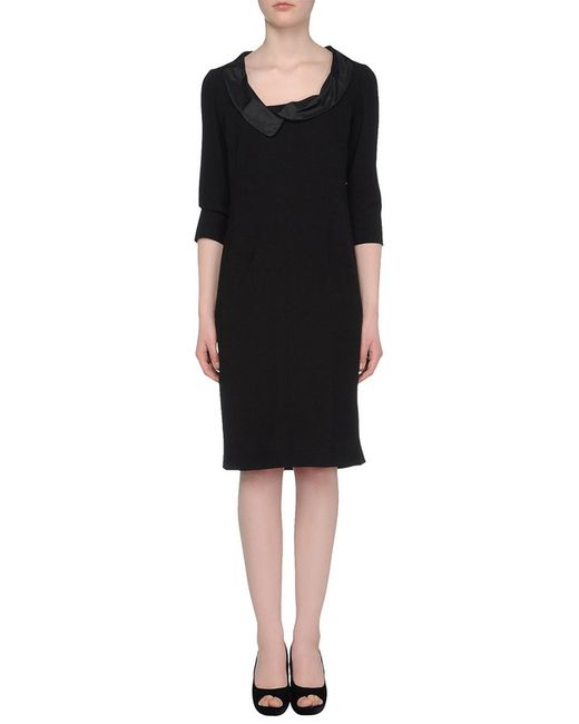 Botondi Milano | Женское Чёрное Платье