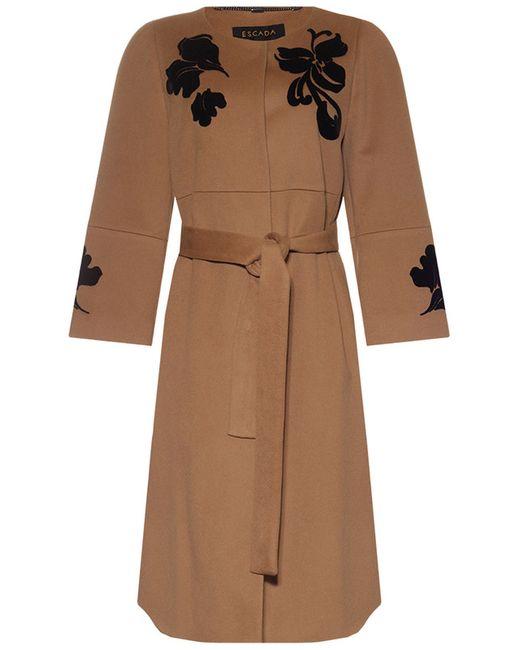 Escada | Женское Коричневое Пальто