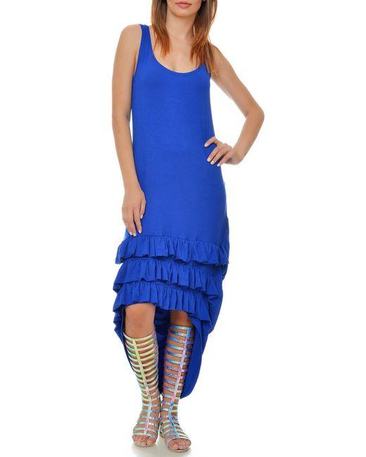 Ki6 collection | Женское Синее Платье