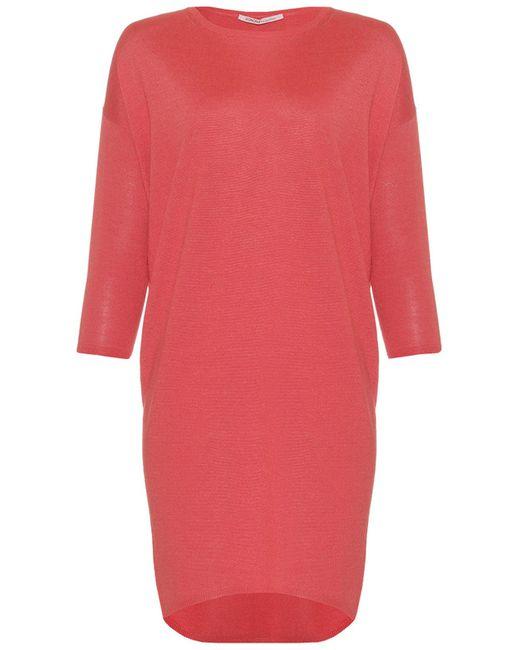 Agnona | Женское Розовое Платье