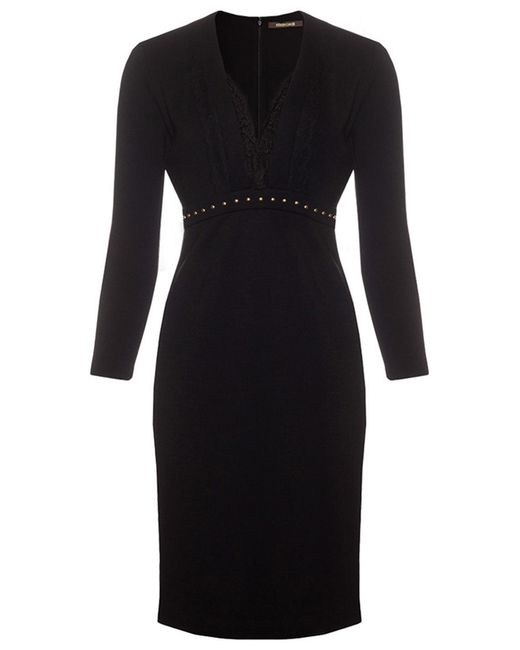 Roberto Cavalli   Женское Чёрное Платье