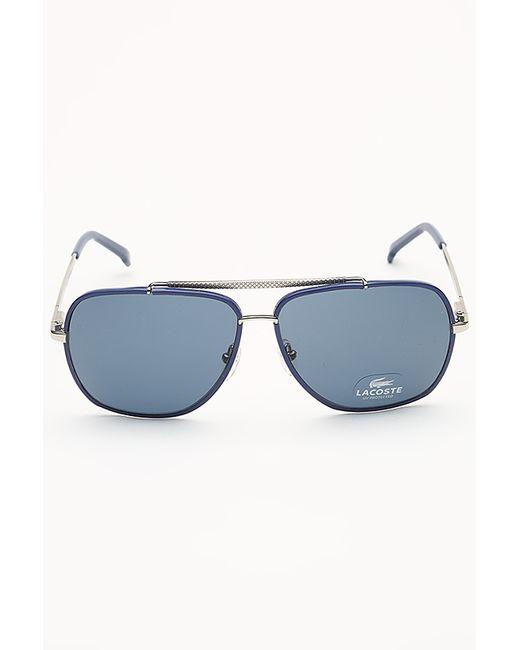 Lacoste | Женские Синие Очки Солнцезащитные