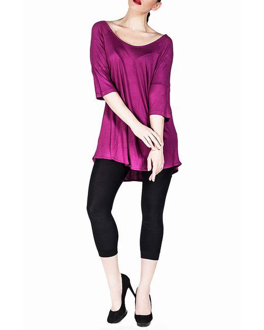 Exline   Женская Фиолетовая Туника