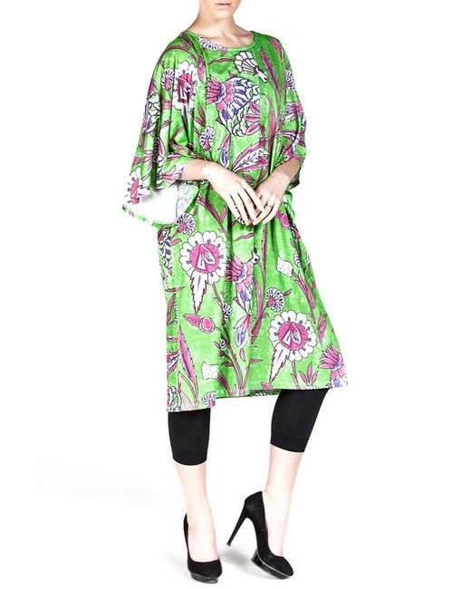 Exline | Женское Зелёное Платье