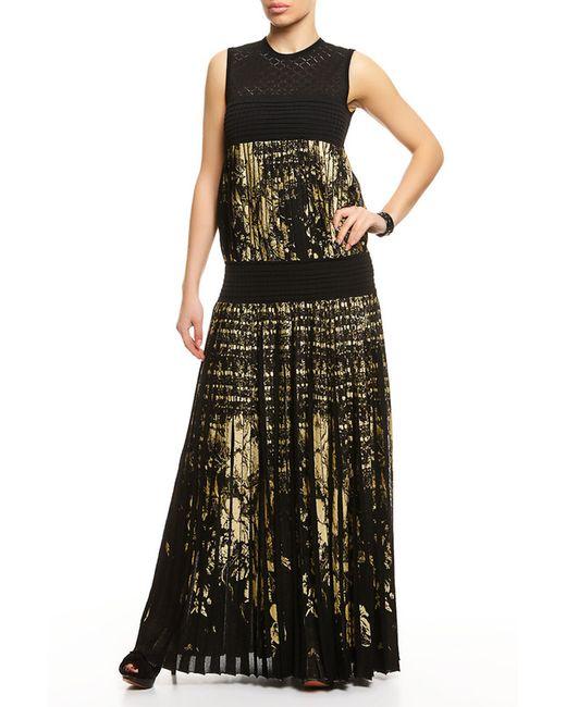 Roberto Cavalli   Женское Чёрное Платье Вечернее