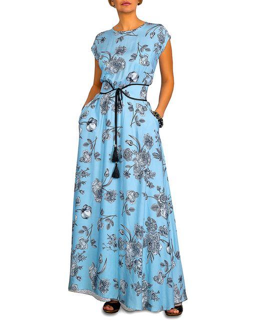 CLEVER | Женское Голубое Платье