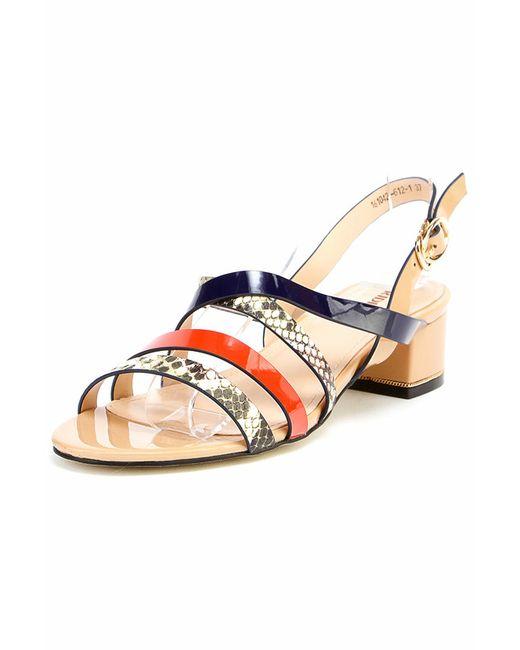 Ridlstep | Женские Оранжевые Туфли Летние Открытые