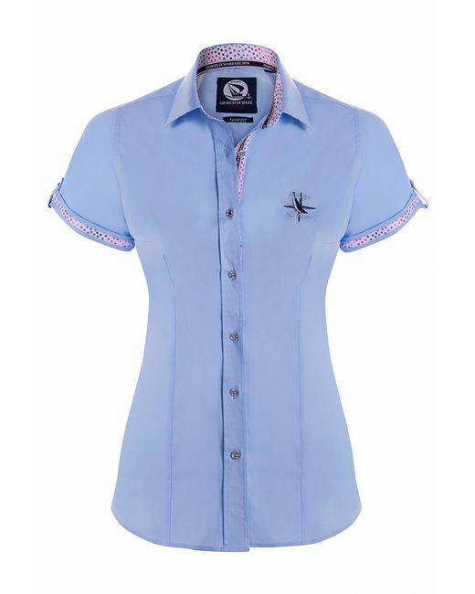 Giorgio Di Mare | Женская Синяя Рубашка