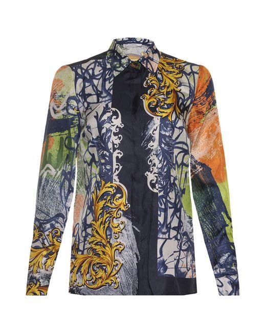 Versace Collection   Женская Синяя Блуза
