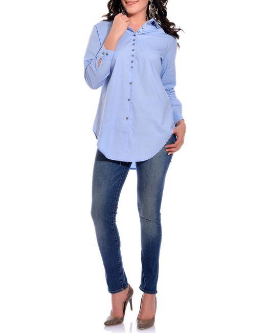 VALERIA FRATTA   Женская Синяя Рубашка