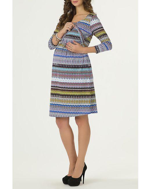 Nuova Vita | Женское Голубое Платье