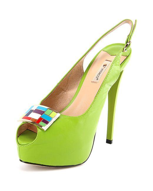 Vitacci | Женские Зелёные Босоножки