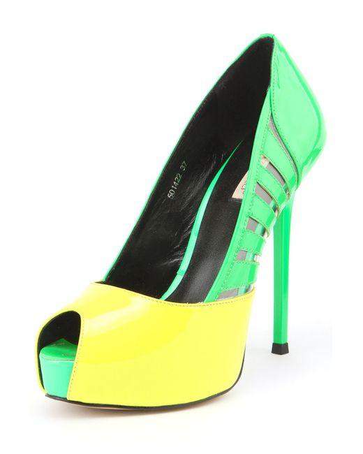 Vitacci   Женские Зелёные Туфли