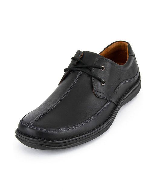 SHOIBERG | Мужские Чёрные Туфли