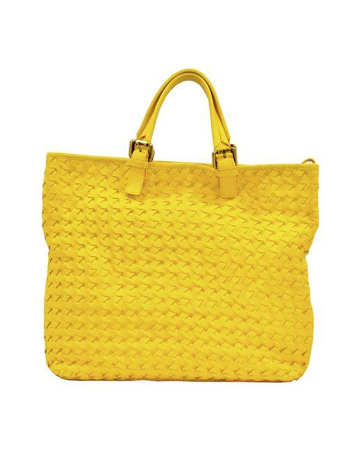 pelle Italia | Женская Жёлтая Сумка