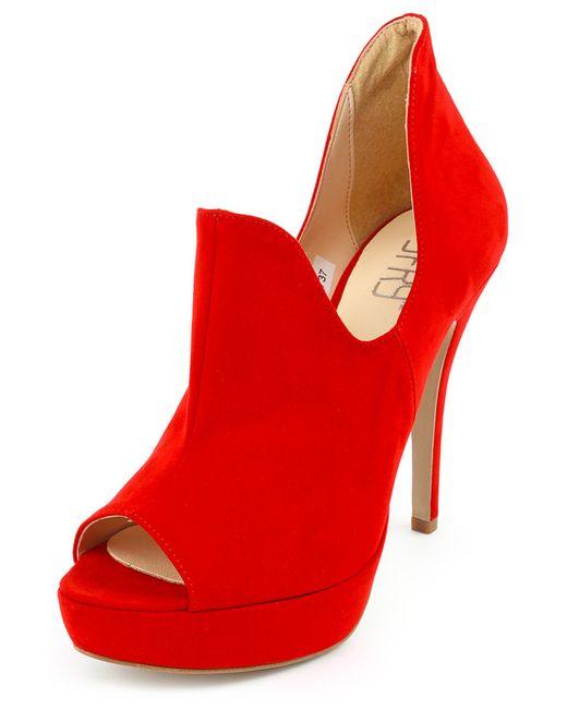 J.FRY | Женские Красные Туфли